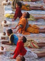 Yoga am Ganges